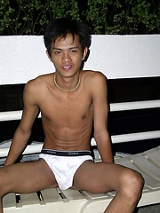 Cute asian boy naked
